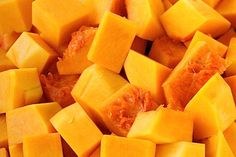 How to: peel, seed and cut butternut squash