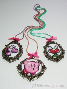 Ahh! Where can I get necklace frame things like these, I have so many ideas for this.