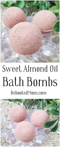 Moisturizing Sweet Almond Oil Bath Bombs that are easy to make and even better to give as gifts to family and friends! #bathbombs #DIY #beauty #sweetalmond #essentialoils #handmade Making Bath Bombs, Best Bath Bombs, Small Jars With Lids, Carrot Soap, Diy Beauty Projects, Bath Bomb Molds, Coffee Colour, Lotion Bars, Sweet Almond Oil