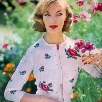 Vogue Knit Pattern Book 1958 - Evelyn Trip