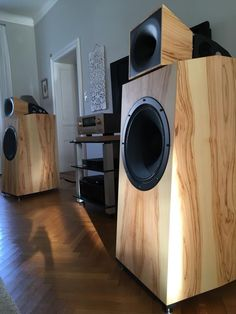 High End Audio Equipment For Sale Pro Audio Speakers, Hifi Audio, Built In Speakers, Bookshelf Speakers, Audio Design, Speaker Design, Equipment For Sale, Audio Equipment, Room Acoustics