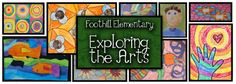 Foothill Visual Arts - a great elementary art curriculum