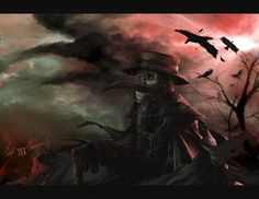 Plague doctor: The black death comes by lockinloadeadly on DeviantArt