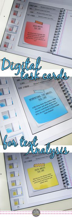 Response to a Text Task Cards BUNDLE, Traditional and Digital, Distance Learning, Google Classroom, Online Learning, Remote Learning, High School English, Middle School English