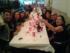 """Comienza la fiesta en las """"barracas"""" #elcampelloMyC"""