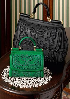 #bags #DolceGabbana OMG The little Kelley Green one!