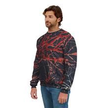 Men's Black and Red Sweatshirt Crew Sweatshirts, Men's Fashion, Men Sweater, Unisex, Stylish, Mens Tops, Red, How To Wear, Collection