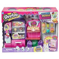 Shopkins Season 4 So Cool Metallic Fridge - Toy Box Chest
