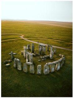 Incroyable crépuscule Stonehenge