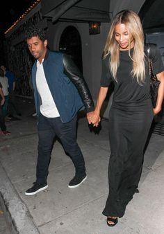 Pin for Later: Ciara Shows Off Her Stunning Natural Beauty During a Date Night With Russell Wilson