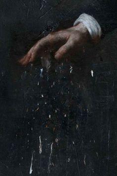 nicola samori | Nicola Samorì – La Candela per Far Luce Deve Consumarsi, 2010, oil ...