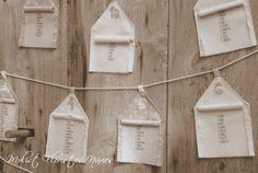 más casitas... estas  para la boda de Sheila y Marcos