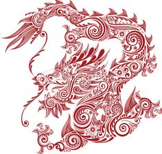 dragon Royalty Free Stock Vector Art Illustration