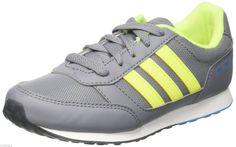 online store 93794 0555a ADIDAS SCARPE RAGAZZI UOMO Vs Switch K F99373 Grey Syello Solblu TELA  ECOPELLE · Sneakers Adidas