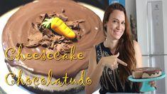 O melhor Cheesecake de Chocolate | Tem textura de Sorvete | Feliz Páscoa