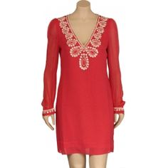 French Connection, coral dress. Beautiful and so classy and simple!!