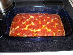 This is one of the best no bread pizzas I have had and good for someone who has to eat low carbs!