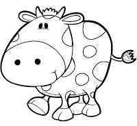 Las 83 Mejores Imágenes De Vacas Para Imprimir En 2017 Vaca