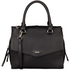 Fiorelli Mia Grab Bag , Black (€52) ❤ liked on Polyvore featuring bags, handbags, black, cross body strap purse, faux leather purses, faux leather crossbody, vegan handbags and faux leather crossbody purse