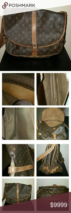 Additional photos of Samur 35 Knick on exterior as seen in photo 4 Interior exc condition Louis Vuitton Bags