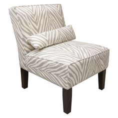 a neutral way to add some zebra print. I just love this seat