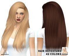 Hair retextures Nightcrawler at Miss Paraply • Sims 4 Updates