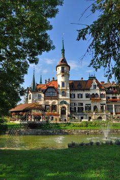 zámek Lešná u Zlína, Czech