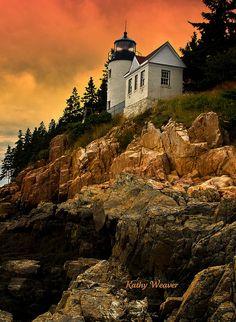 Bass Harbor Headlight, Maine