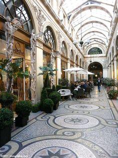 """lacloserie: """"Galerie Vivienne - Paris myparisblog.com """""""