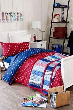 Ashton Duvet Cover Set - making this for W's big boy bed.