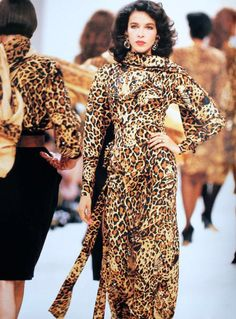 SAINT LAURENT RIVE GAUCHE  CIRCA 86 DALMA CALLADO CDC SILK CHITA PRINT EVENING  WAS AVAILABLE EVENING GOWNS ,MID LENGTH DRESSES,WRAP BLOUSES W/ TIE STREAMERS, SKIRTS & PANTS AND VERY LARGE WOOL SILK CHIFFON SCAVES! IN MY OPINION THE BEST ANIMAL PRINT EVER! MY FAVORITE PIECES!!!!