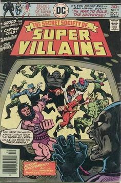 Secret Society of Super-Villains #15 - The Wizard's War of the Worlds (Issue)
