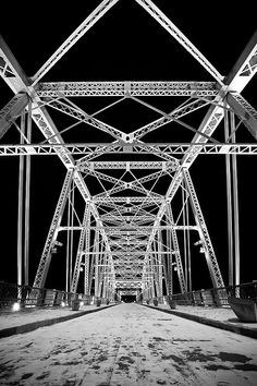 Shelby Street Bridge    Nashville, TN.
