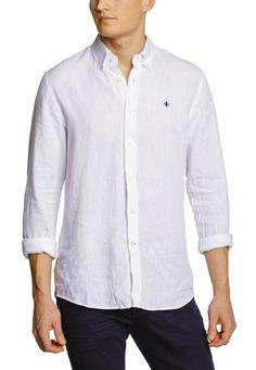 Morris Douglas Shirt vit