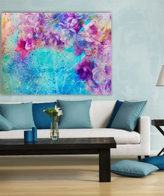 Look at this Cherry Blossoms Wrapped Canvas on #zulily today!