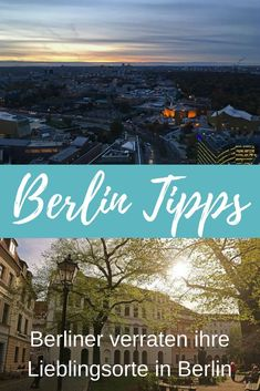 Berlin Tipps: Berliner verraten ihre Lieblingsorte Berlin tips: Berlin reveal their favorite places Solo Travel Europe, Camping Europe, City Breaks Europe, Europa Tour, Top Europe Destinations, Barcelona Restaurants, Reisen In Europa, Voyage Europe, Germany Travel