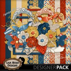 Delightful - The perfect kit to scrap your most delightful moments, with family, with friends, with your soul mate... www.mymemories.com/store/designers/Lisa_Rosa_Designs/?r=lisa_rosa_designs