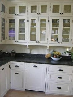 Image result for soapstone countertops beadboard