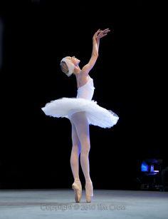 Sarah Lamb in The Dying Swan. Photo (c) Tim Cross.