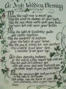 1000 Ideas About Irish Wedding Blessing On Pinterest Wedding Blessing Irish Wedding
