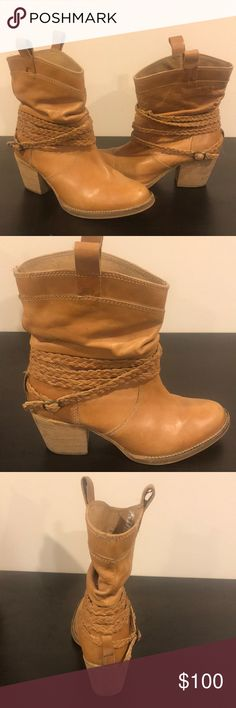 4089fdf3f860 Shop Women s dingo Tan size Ankle Boots   Booties at a discounted price at  Poshmark.