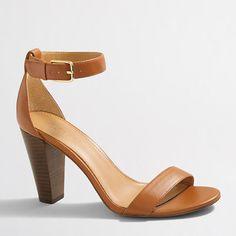 J.Crew+Factory+-+Factory+stacked-heel+sandals