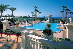 The St. Regis Monarch Beach Resort in Dana Point, one of our favorite places to stay.