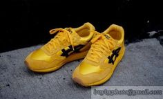 Men's Asics Running Shoes 0590 Bruce Lee Yellow|only US$95.00 - follow me to pick up couopons.