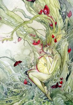 The first spark of life:   a murmur   a thought   a wish   a hope   maybes   might bes   the swelling of dreams   the thrill of potential tucked in a seed