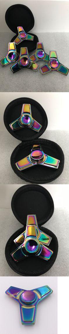 Yipa Glow in the Dark Hand Spinner Tri Fid Focus Tool Desk Toy