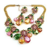 Parisienne Bloom ~ Necklace Set