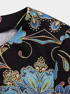 Γυναικεία Φόρεμα ριχτό Φόρεμα μέχρι το γόνατο - Μισό μανίκι Φλοράλ Στάμπα Καλοκαίρι Λαιμόκοψη V Καθημερινό καυτό φορέματα διακοπών Φαρδιά 2020 Θαλασσί M L XL XXL 3XL 2020 - € 16.9 Half Sleeve Dresses, Knee Length Dresses, Half Sleeves, Manga Floral, Vacation Dresses, Dress Sewing Patterns, Vera Bradley Backpack, Dresses Online, Blue Dresses