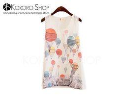CAMISETAS CUTE CHIFFON - REF: GLOBOS_CM/003000   Síguenos en Instagram: @KokoroShopStore  Para pedidos o consultas, contactar mediante Facebook:  https://www.facebook.com/kokoroshop.store/     Muchas Gracias  #moda #modamujer #camisetas #woman #girls #verano #summer #summertime #cute #lovely #shopping #tiendas #compras #chicas #outfit #balloons #outfit #sexy #back #retro #fashionista #tanktops #globos