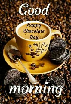 Chocolate Day Images For Whatsapp Good Morning Images, Best Chocolate, Chocolate Recipes, Happy Chocolate Day Images, Sandra Boynton, World's Best Food, Image Hd, Valentine Chocolate, Happy Day